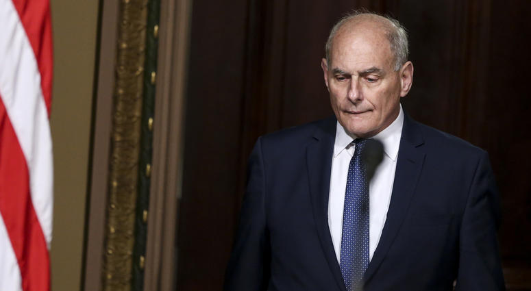White House Chief of Staff John Kelly