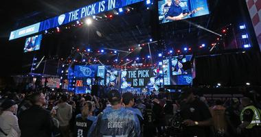 The scene at the 2019 NFL Draft in Nashville