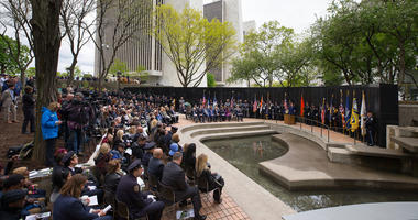 State of New York Police Officers Memorial