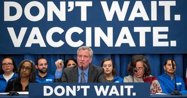 Mayor Bill de Blasio Public Health Crisis