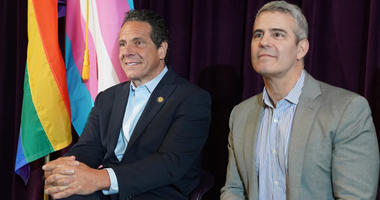 Governor Cuomo and Andy Cohen