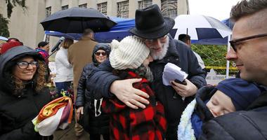 healing service Pittsburgh synagogue