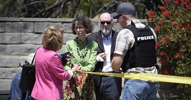 Synagogue shooting San Diego