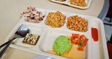 Cafeteria tray