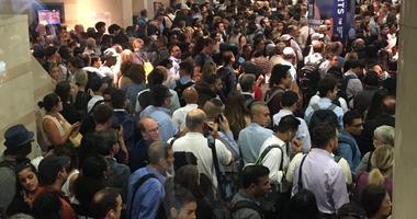NJ Transit Crowd