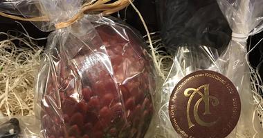 Aigner chocolate dragon egg
