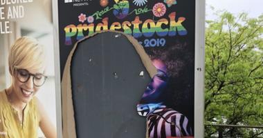 LGBT Poster Vandalism