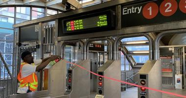 MTA Service Suspension 1-6 lines