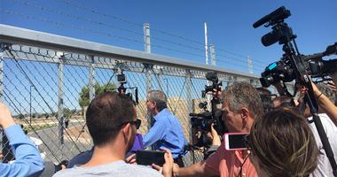 Mayor Bill De Blasio At Child Detention Facility
