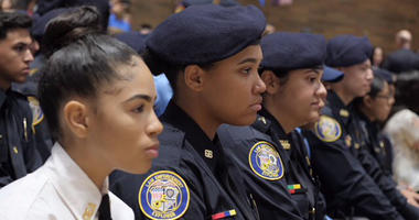 NYPD Explorer Graduates