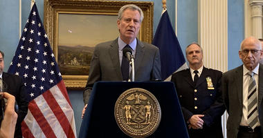 Mayor Bill de Blasio Shutdown