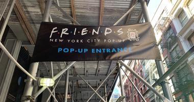 Friends pop up
