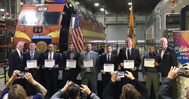 New Class Of NJ Transit Engineers Complete Formal Training