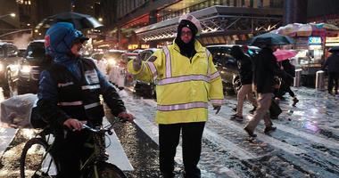Rain Snow New York City