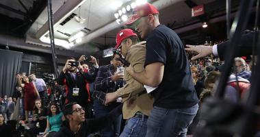BBC Cameraman Attacker At Trump Rally