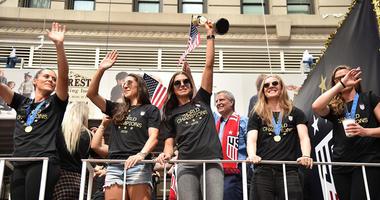 2019 Women's World Cup Ticker-Tape Parade