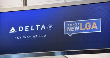 Delta's new terminal at LGA