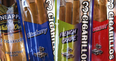 Flavored cigars