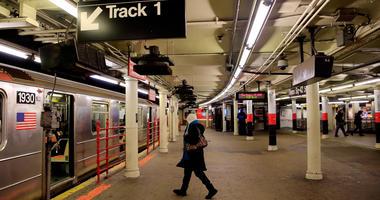 MTA subway 42nd Street Shuttle