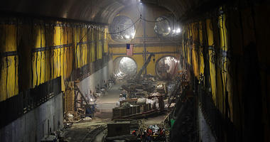 East Side Access project