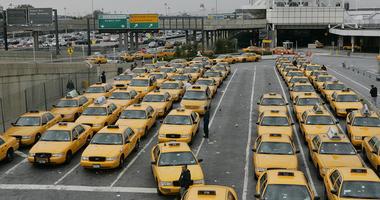 Taxis at LaGuardia Airport
