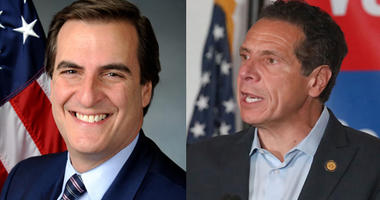 Michael Gianaris and Andrew Cuomo