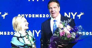 Andrew Cuomo with Hillary Clinton