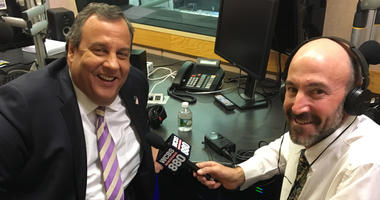 Chris Christie and Peter Haskell