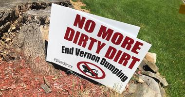 Vernon dirt pile