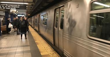 Subway Train Canal Street
