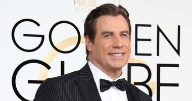 John Travolta at the 74th Golden Globe Awards
