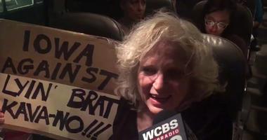 Kavanaugh Protester
