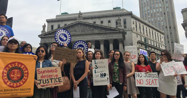 Legal Aid Attorneys Protest Against Kavanaugh