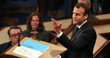 French President Emmanuel Macron Addresses Congress