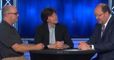 Ken Burns, Erik Ewers -- Mayor Clinic