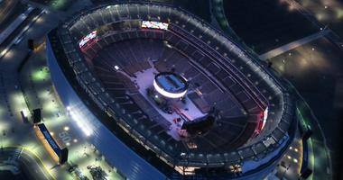 MetLife Stadium during Wrestlemania