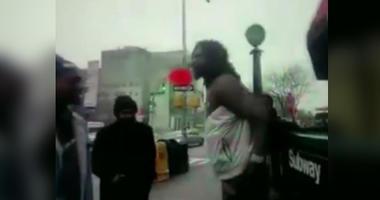 NYPD baton beatdown