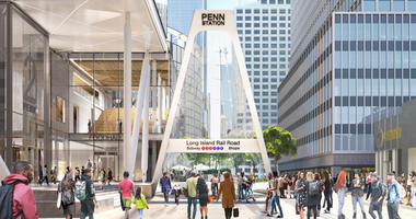 New LIRR Entrance at Penn Station