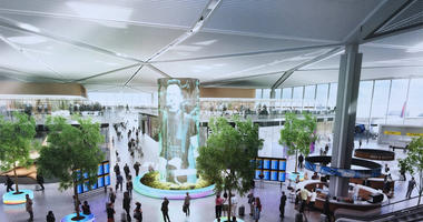 New Newark Airport Terminal