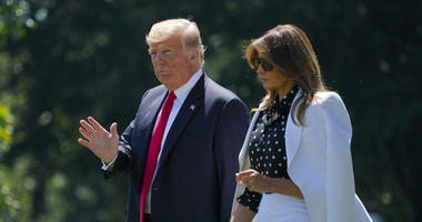 President Donald And First Lady Melania Trump