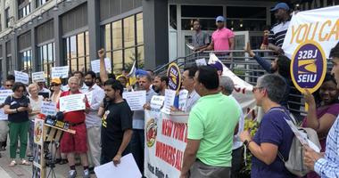 Protest For Uber, Lyft Cap