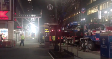 Crane collapse near Penn Station