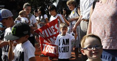 Separated Children Protest