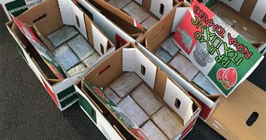 Tomato Box Heroin Smuggling