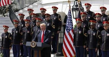 Trump Flag Celebration