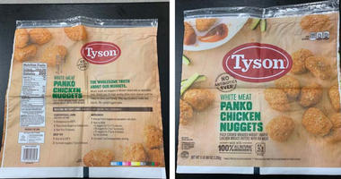 Tyson Chicken Nugget Recall