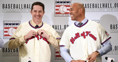 Mike Mussina and Mariano Rivera