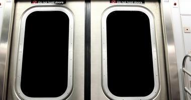 New York City Subway Doors