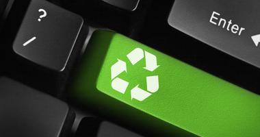 Recycle key on keyboard
