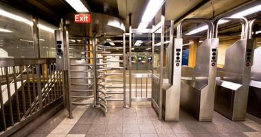 Subway turnstile